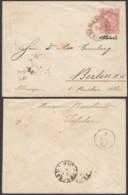 Iran 1888-1904 - Entier Postal  Sur Enveloppe D' Isfahán Vers Berlin-Allemagne De  1420x1090mm   (8G-20802) DC-7485 - Iran