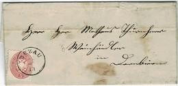 "1865, "" BEZAU ""  - Vorarlberg -  A3862 - Briefe U. Dokumente"