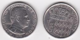 MONACO. 1 FRANC 1979 RAINIER III - 1960-2001 Nouveaux Francs