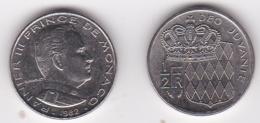 MONACO. 1/2 FRANC 1982 RAINIER III - 1960-2001 Nouveaux Francs