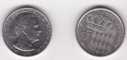 MONACO. 1/2 FRANC 1979 RAINIER III - 1960-2001 Nouveaux Francs