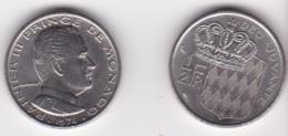 MONACO. 1/2 FRANC 1974 RAINIER III - 1960-2001 Nouveaux Francs