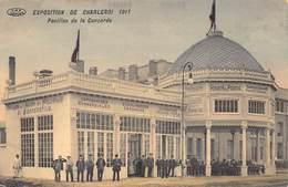 Exposition De Charleroi 1911 Pavillon De La Concorde      M 2820 - Charleroi
