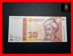 TAJIKISTAN 10 Somoni 1999 P. 16  UNC - Tadschikistan