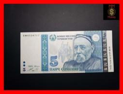 TAJIKISTAN 5 Somoni 1999 (2013) P. 23  UNC - Tadschikistan