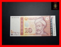 TAJIKISTAN 10 Somoni 1999 P. 24 A  UNC - Tadschikistan
