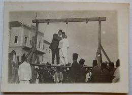 Photo. Exécution Par Pendaison Syrie, Damas?  Le 11 Mai 1927 - Syrie