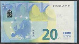 € 20  FRANCE  EC E007  DRAGHI  UNC - EURO