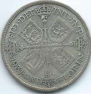 United Kingdom / Great Britain - 1931 - Florin / 2 Shillings - George V - KM834 - 1902-1971 : Monete Post-Vittoriane