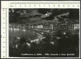 EB275 CAMPANIA NAPOLI CASTELLAMMARE DI STABIA 1964 CORSO GARIBALDI NOTTURNO VG BN A - Napoli (Naples)