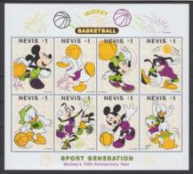 Névis 1181 à 1188  ** (Walt Disney) Se Tenant En Petite Feuille - Antillen