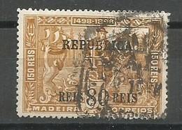 Portugal Afinsa 189 Overprinted Used 1911 - 1910-... Republik
