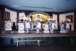 80s HACKER KELLER FESTAUSSCHANK MUSIK BAND DANCE MUNCHEN GERMANY AMATEUR 35mm ORIGINAL NEGATIVE Not PHOTO No FOTO - Fotografia