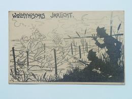 Humor  2249  WWI  Military Caricature Karikatur 1914 Ed Pietsch  Deutschmeister Syrene Meerjungfrau - Humorísticas