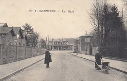 LOUVIERS (Eure): La Gare - Louviers
