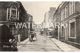 DURSLEY SILVER STREET OLD B/W POSTCARD GLOUCESTERSHIRE - Andere