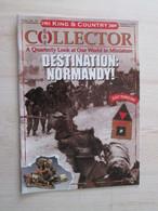BACVERTCAGIBI Figurines KING & COUNTRY / Brochure COLLECTOR N°24 De 2009 , 24 Pages MAGNIFIQUEMENT ILLUSTREES - Militares