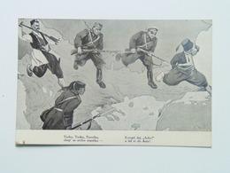 Humor  2255  WWI  Military Caricature Karikatur 1914 Turkie Ed K. Kuba - Humoristiques