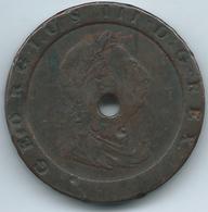 "United Kingdom - George III - 1797 - 2 ""Cartwheel"" Pence - KM619 (c. 57 Grs) - 1662-1816 : Former Minting End Of 17th - Beginning Of 19th C."