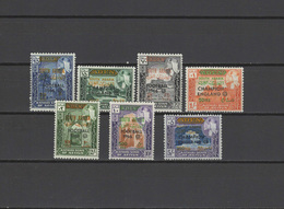 Aden - Kathiri State Of Seiyun 1966 Football Soccer World Cup Set Of 7 With Overprint MNH - 1966 – England
