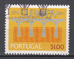 Portugal Europa Cept 1984 Gestempeld  Fine Used - 1984