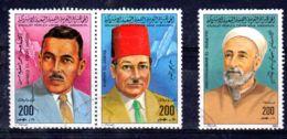 Libyen - Libya Volks-.Dschamahirija, 1984; Mi-Nr. 1246 + 1249/1250, Cancelled - Oblitéré, Lot 52455 - Libia