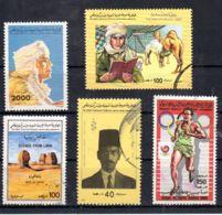 Libyen - Libya Volks-.Dschamahirija, Diff Stamps See Scan, Cancelled - Oblitéré, Lot 52454 - Libia