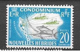 1965 MNH Nouvelles Hebrides Mi 213 - Nuovi