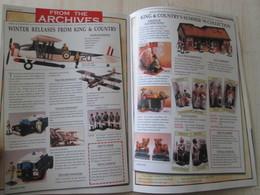 BACVERTCAGIBI / Figurines KING & COUNTRY / Brochure DESERT VICTORY 4 Pages MAGNIFIQUEMENT ILLUSTREES - Militares