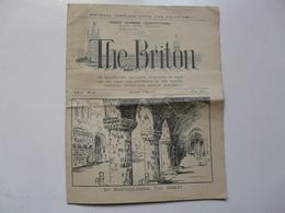 JOURNAL ANGLAIS POUR LES FRANCAIS : The Briton 1923 - Cultural