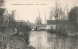 CPA 343 - Somme - Bonnay - La Rivière L'Ancre Et Le Pont - France