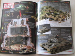 BACVERTCAGIBI / Figurines KING & COUNTRY / Brochure 4 Pages MAGNIFIQUEMENT ILLUSTREES - Militares