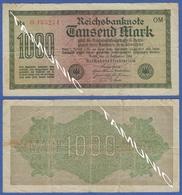 GERMANY 1000 Mark 1922 NOMINAL - [ 3] 1918-1933 : Weimar Republic