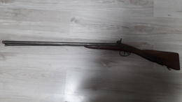 Vieux Fusil à Piston - Armes Neutralisées