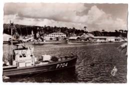 Martinique - Fort-de-France - Les Quais De La Compagnie Générale Transatlantique - édit. Pierre Milon 144 + Verso - Fort De France