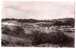 Martinique - Fort-de-France - Le Colombie De La Compagnie Générale Transatlantique à Quai - édit. Pierre Milon 705 + Ver - Fort De France