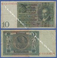 GERMANY 10 Reich Mark 1929 ALBRECHT DANIEL THAER - 10 Mark