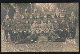 FOTOKAART  DUITSE MILITAIREN - War 1914-18