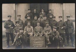 FOTOKAART  DUITSE MILITAIREN - Oorlog 1914-18
