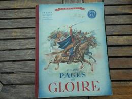 """Livre """"Quelques Pages De Gloire"""" Pierre Nord - Histoire Et Art"""