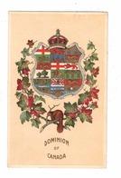 """""""Dominion Of Canada"""", Canada Coat Of Arms, 1908 Canada Patriotic Postcard - Canada"""