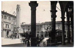 Imola - Municipio E Monumento Ai Caduti Visti Dai Portici Del Sersanti - Imola