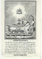 DP CORNELIUS PEETERS Weduwenaer THERESIA VAN CAUWENBERGH - NIEL 1766 / 1846 - Images Religieuses