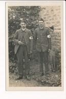 Carte Photo Militaire 8e Régiment à Identifier Infirmier ? ( Brassard Croix Rouge ) écrite De Pougues Les Eaux 1915 - Autres