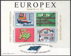 Europex 1962 Souv Sheet MNH** - 1962