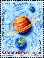 San Marino Saint-Marin 2176/77 Europa, Astronomie - Europa-CEPT
