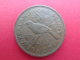 New Zealand  1 Penny  1964  Km 24.2 - Nueva Zelanda