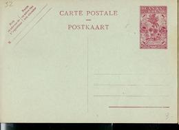 Carte Neuve N° 32 ( 2,40Fr Rouge Sur Bleu) - Entiers Postaux