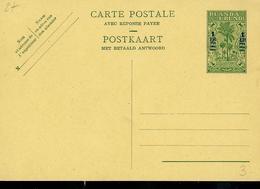 Carte Neuve N° 29  ( 1 Fr Sur 60 Cent ) - Entiers Postaux