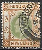 HONG KONG   -   1904 .  Y&T N° 80 Oblitéré - Hong Kong (...-1997)